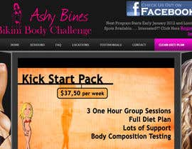 #28 for Logo Design for Ashy Bines Bikini Body Challenge by dasilva1