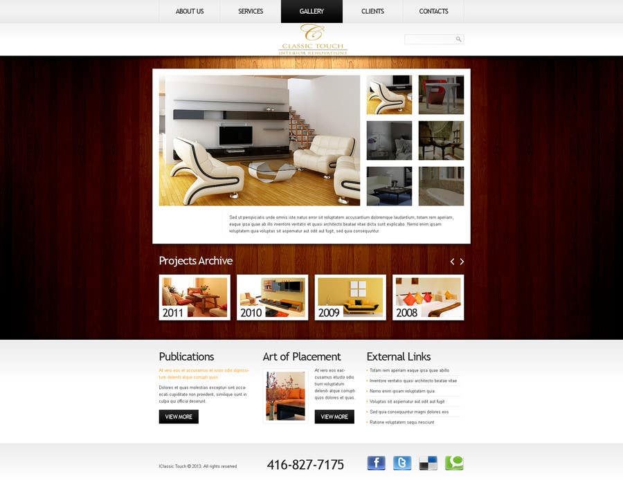 #21 for Build a Website for Remodelling company by okakzai