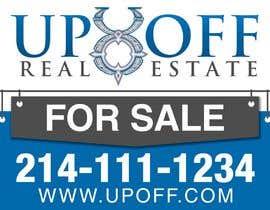 ferisusanty tarafından Real Estate Yard Sign Design için no 46