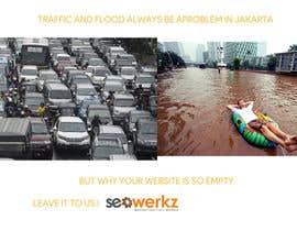jaya886 tarafından Create the best idea for a freeway billboard for SEO Werkz için no 13