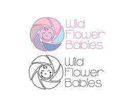 #24 for Design a Logo for Wild Flower Babies af stefanciantar