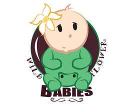 #5 for Design a Logo for Wild Flower Babies af Chalice777