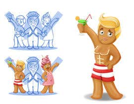 #35 para Illustration of Gay Gingerbread Men por Milos009