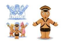 Bài tham dự #56 về Photoshop cho cuộc thi Illustration of Gay Gingerbread Men