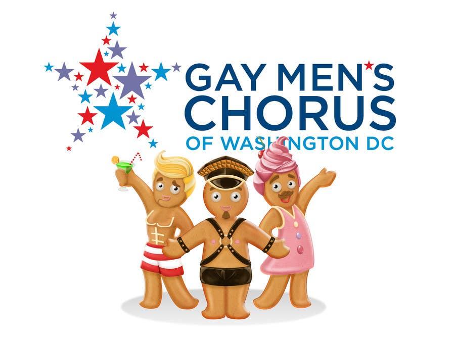 Bài tham dự cuộc thi #58 cho Illustration of Gay Gingerbread Men