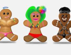#26 untuk Illustration of Gay Gingerbread Men oleh dulphy82