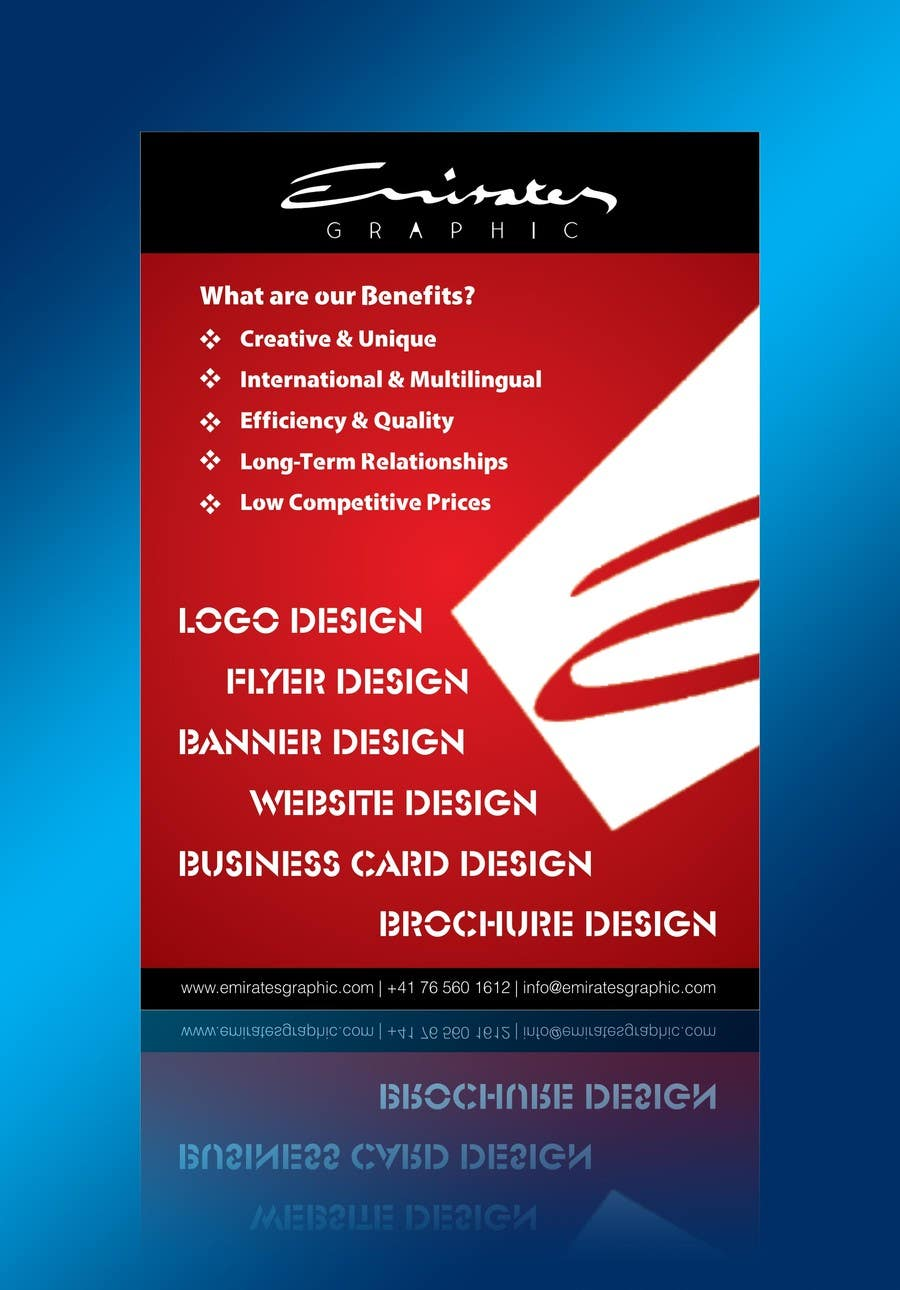 #3 for Design a Flyer for Emirates Graphic by linokvarghese