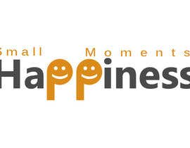 #6 cho Design a Logo for Small Moments of Happiness, from Uptitude bởi goldwebdesigner