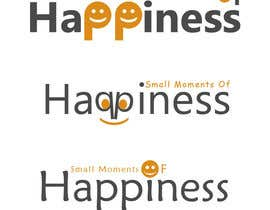 #32 para Design a Logo for Small Moments of Happiness, from Uptitude por goldwebdesigner