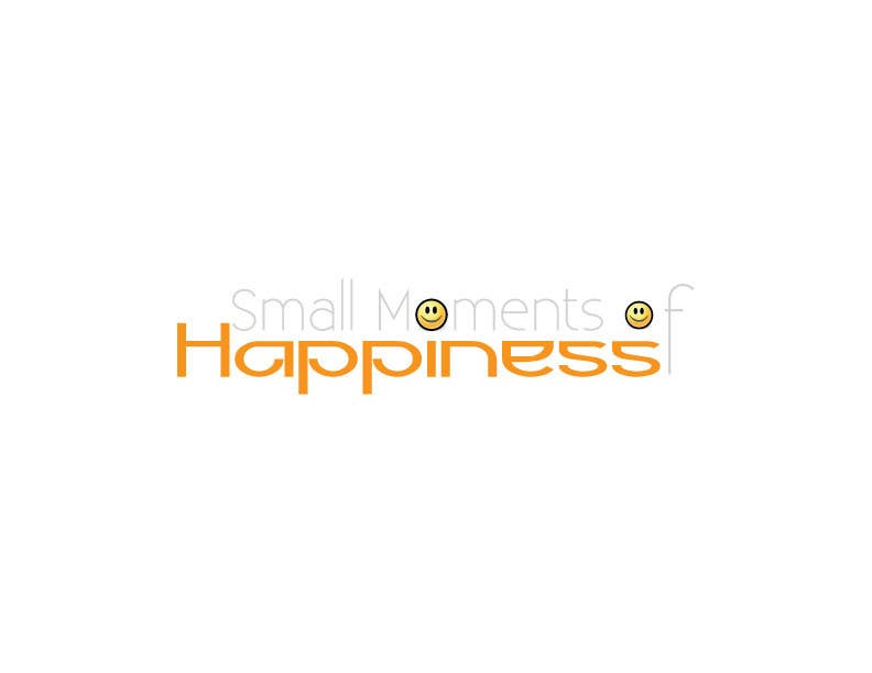 #38 for Design a Logo for Small Moments of Happiness, from Uptitude by ffarukhossan10