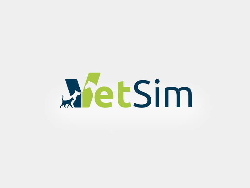 #264 for Design a Logo for VetSim by cristigoia