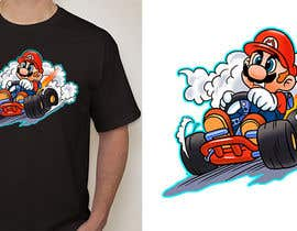 #34 for Draw Super Mario Kart caricature af AvatarFactory