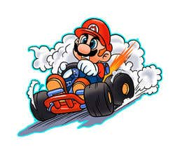 #35 for Draw Super Mario Kart caricature af AvatarFactory