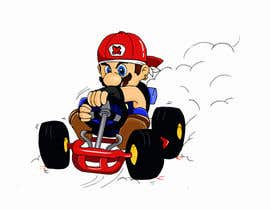 #45 for Draw Super Mario Kart caricature af Izunyan