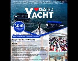 Nro 37 kilpailuun Design Yoga on a Yacht Flyer käyttäjältä jhess31