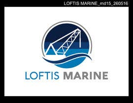 colorgraphicz tarafından Design a Logo for Loftis Marine için no 127