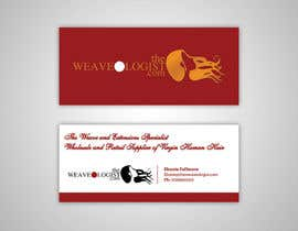nº 11 pour Create Luxe Business Cards for Hair company par princevtla