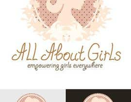 #252 , Logo Design for All About Girls 来自 Manjuna