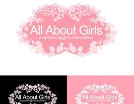 #154 para Logo Design for All About Girls por Decafe