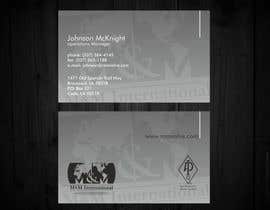 #62 untuk Business Card Design for M&M International oleh F5DesignStudio