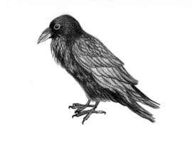#25 for Illustration of Raven in Snow by Julia73