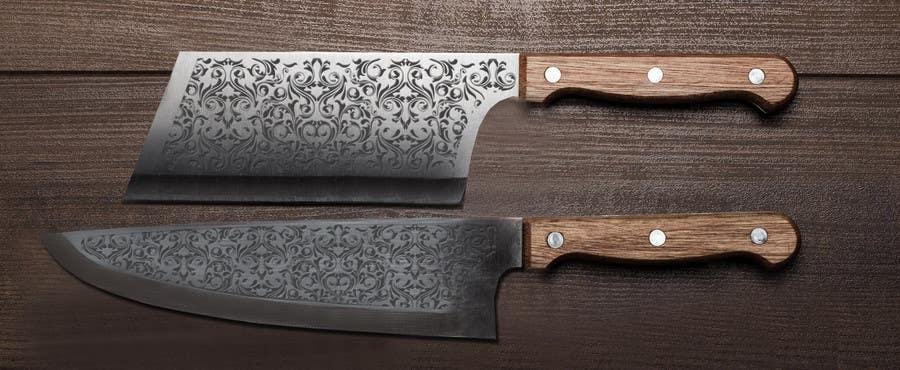 Penyertaan Peraduan #                                        6                                      untuk                                         I need a Grafik Design to etch on my Kickstarter Knife Series