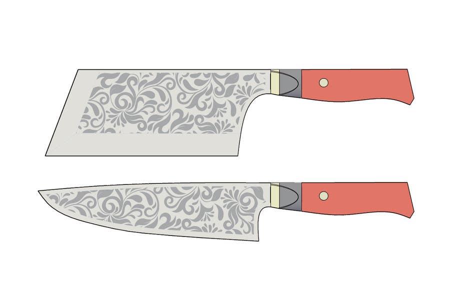 Penyertaan Peraduan #                                        12                                      untuk                                         I need a Grafik Design to etch on my Kickstarter Knife Series