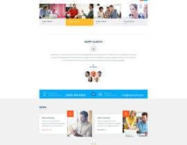 Nro 1 kilpailuun Design a Website Concept/Mockup for a service industry business website käyttäjältä husainmill