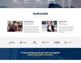 Nro 11 kilpailuun Design a Website Concept/Mockup for a service industry business website käyttäjältä PhoenixGeek