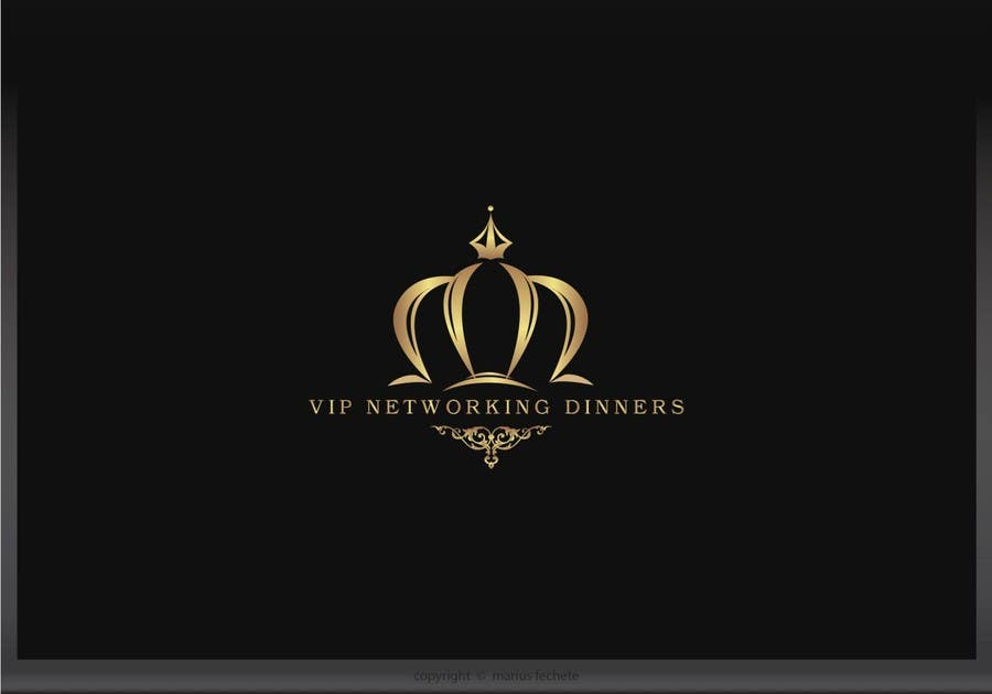 #50 for Design a Logo for Vip networking dinners by mariusfechete