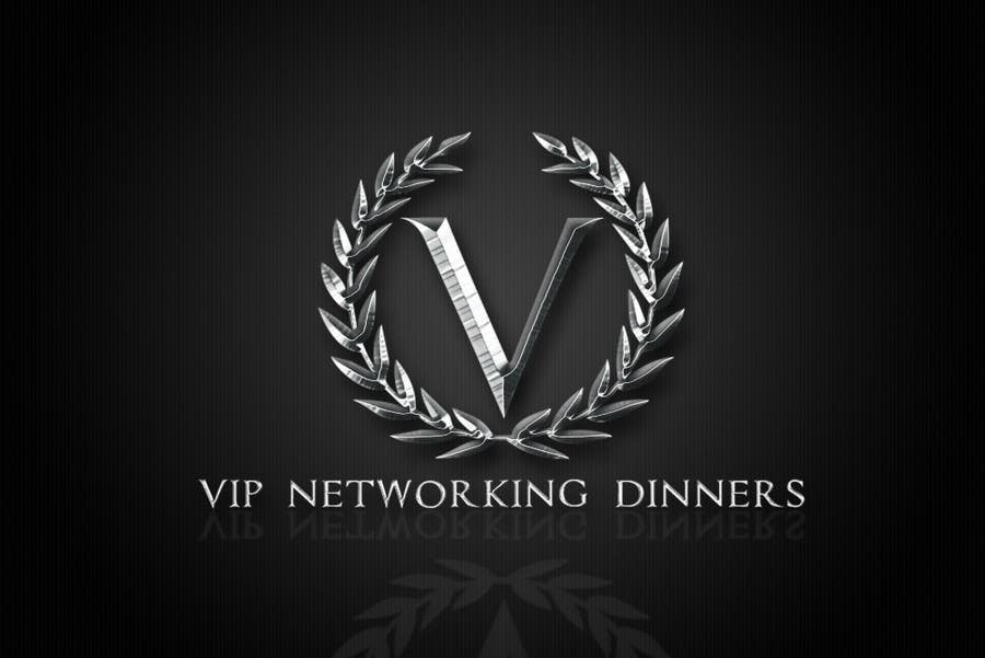 #112 for Design a Logo for Vip networking dinners by helenasdesign