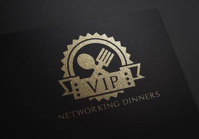 Graphic Design Contest Entry #179 for Design a Logo for Vip networking dinners