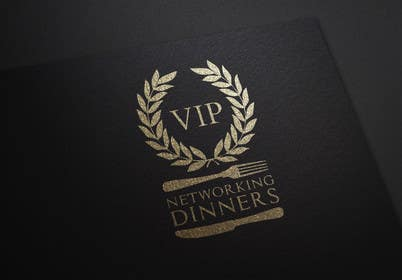 Graphic Design Contest Entry #190 for Design a Logo for Vip networking dinners