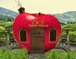 #7 untuk Фотоколлаж или оригинальная картина, обыгрывающая яблоко-домик oleh CioLena