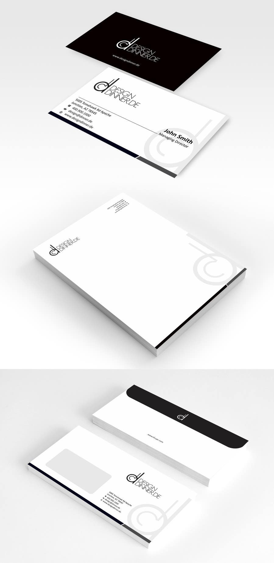#7 for Create Business set (Paper, Business Cards,..) for Company by ezesol