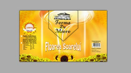 #50 for Label design for Honey Jar (eticheta miere) by Artimization