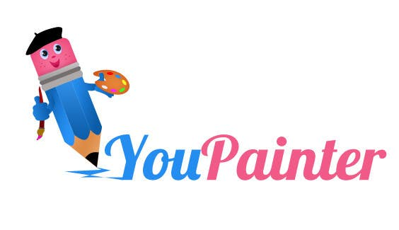 #55 for Logo for kids paintings/sketches gallery (web-site) by beckseve