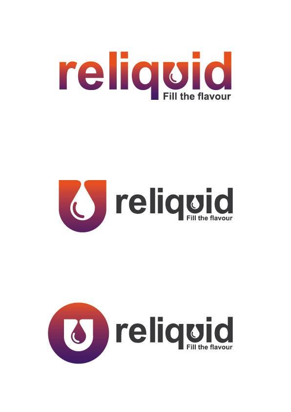Logo design for eliquid company için 123 numaralı Yarışma Girdisi
