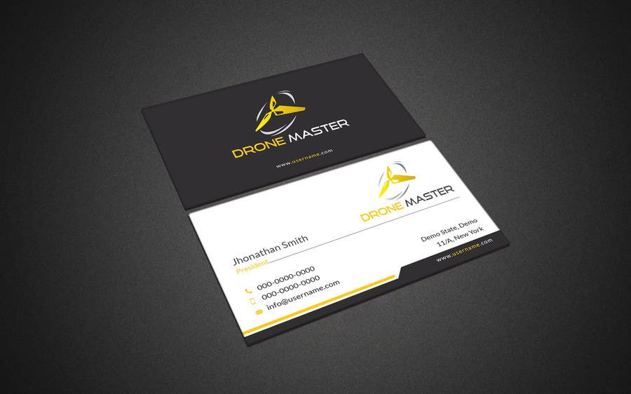 Entry #26 by mahmudkhan44 for Drone store business cards | Freelancer