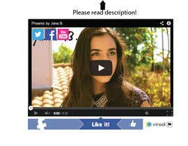 #68 for Design Facebook Like Button For Widget - To Be Seen by Millions! by BonusGratis