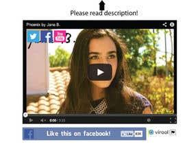 #81 for Design Facebook Like Button For Widget - To Be Seen by Millions! af BonusGratis