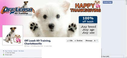 Graphic Design Contest Entry #23 for Thanksgiving Facebook Banner and Profile Pic