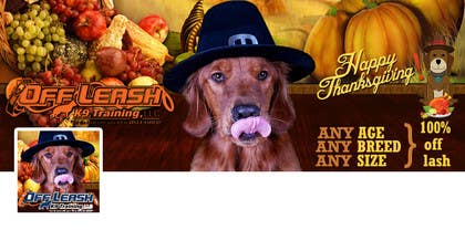 Graphic Design Contest Entry #25 for Thanksgiving Facebook Banner and Profile Pic