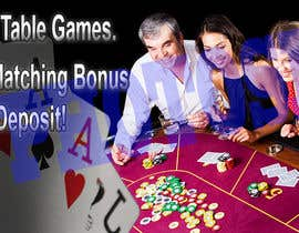 #4 for Table Games Banner for an Online Casino by angelina82