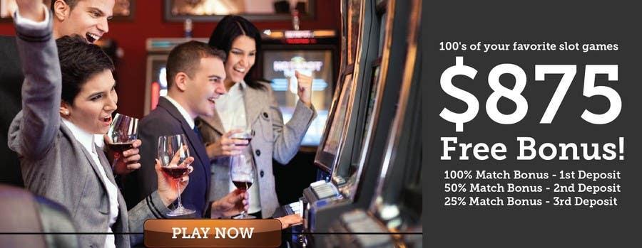 Konkurrenceindlæg #6 for Slot Games Banner for an Online Casino