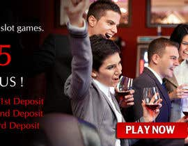 #35 untuk Slot Games Banner for an Online Casino oleh pointlesspixels