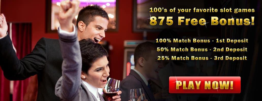 Konkurrenceindlæg #7 for Slot Games Banner for an Online Casino