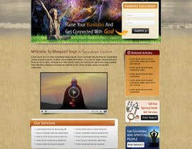 #12 para Design a Website Mockup for Bhagvad Yoga Website por atularora