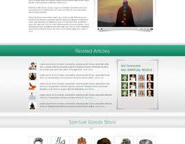 #42 para Design a Website Mockup for Bhagvad Yoga Website por atularora