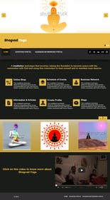#44 for Design a Website Mockup for Bhagvad Yoga Website by StdioRelations